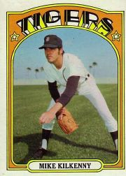 1972 Topps Baseball Cards      337     Mike Kilkenny